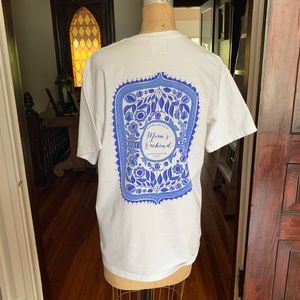Comfort Colors Alpha Delta Pi Sorority T-shirt M